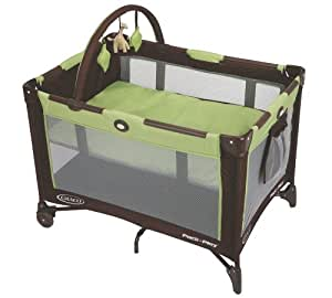 Graco Pack n Play On the Go Travel Playard, Go Green
