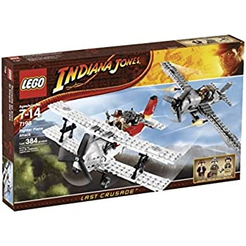 LEGO - 7198 - Jeu de construction - Indiana Jones - Poursuite en avion