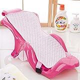 Lvbeis Badewannensitz Baby Antirutsch kreuzförmig Badewanne Unterstützung Badzubehör,Pink