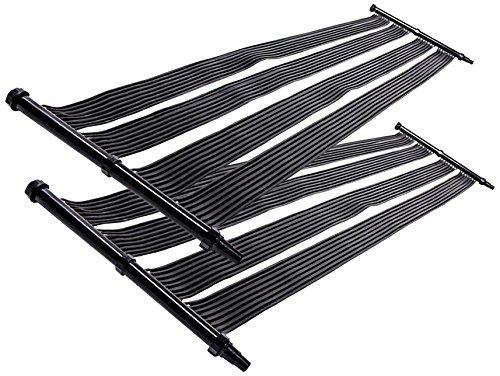Nemaxx 2X SH3000 Solarheater 3 m - Solar-Poolheizung, Solarheizung, Schwimmbecken Heizmatte, Swimmingpool Sonnenkollektor, Warmwasseraufbereitung, Heizung für Pool