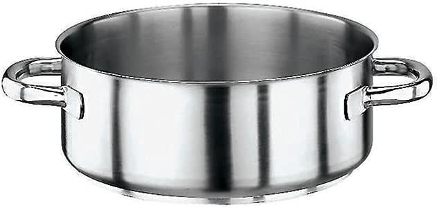 Edelstahl Paderno Rondeau-Topf 4,8 l 1 3//8qt silber