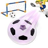 ONEVER Elektroh?nge Fussball Sichere Multioberfl?che Indoor Soccer l Schwebend LED Flashing Kinder Fu?ball-Karneval