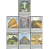Gibraltar 1274-1280 (completa.edición.) 2008 los nuevo 7 Maravillas (sellos para los coleccionistas)