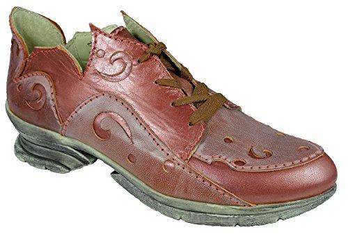 Rovers , Chaussures de ville à lacets pour femme Cognac/Cognac