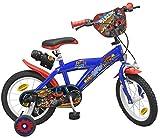 """Toimsa Vélo 14"""" modèle Blaze et Les Monster Machines 4-6ans, 1422, Bleu"""