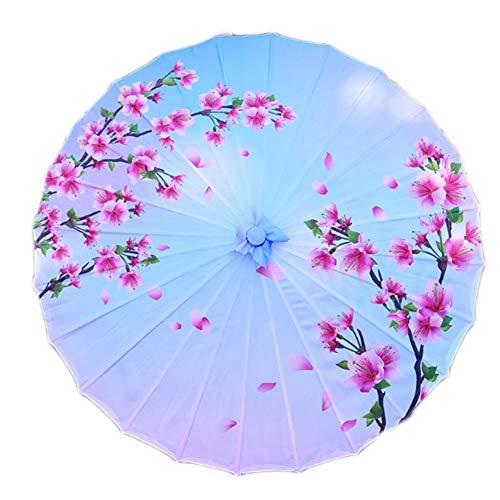 Black Temptation Paraguas de Paraguas Chino japonés para Bodas, fotografía, Baile