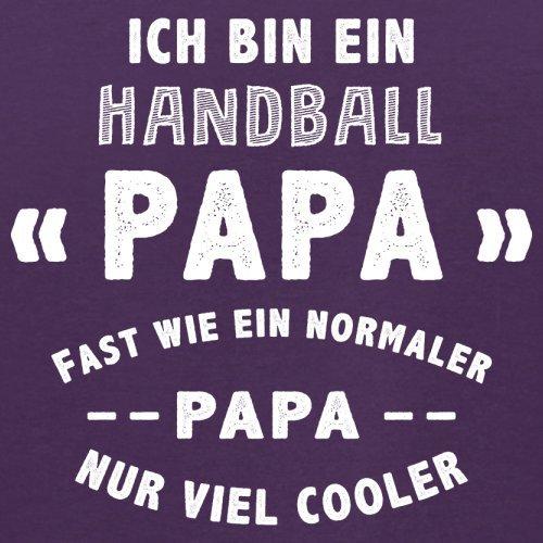 Ich bin ein Handball Papa - Herren T-Shirt - 13 Farben Lila