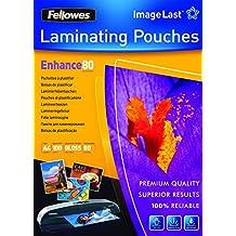 Fellowes 5306114 Pochettes de plastification A4 80 microns par 100