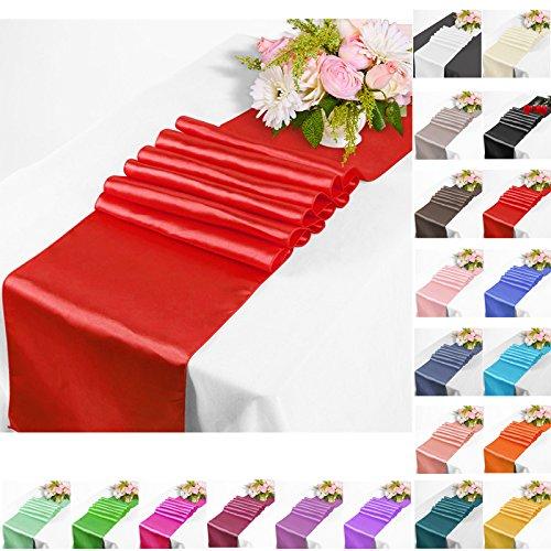 n Tischläufer Tischwäsche Hochzeit Bankett Dekoration Party-30x275cm (Tischläufer Für Hochzeiten)