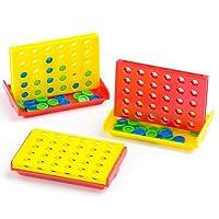 Minispiel-Vier-gewinnt-Spielzeug-fr-Kinder-zum-Kindergeburstag-und-unterwegs-6-Stck