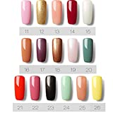 UV LED Gel Nail Polish Sets Colour Gel Nail Starter Kit 6 Pcs Manicure Nail Varnish