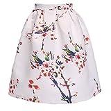 Minetom Jupes Summer Dress Fashion longueur genou fleurs d'été jupe ...