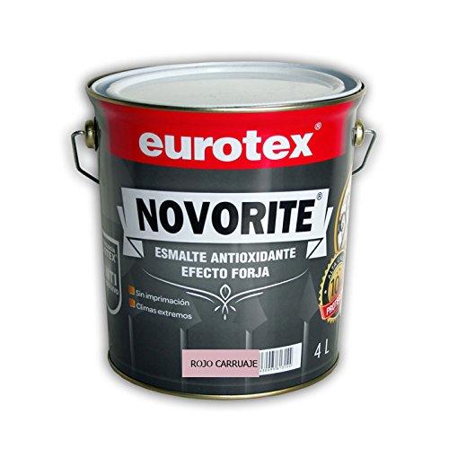 Esmalte antioxidante rojo carruaje brillante de elevada protección contra la corrosión. Posibilidad de aplicar directamente sobre el hierro. - 750 ml -