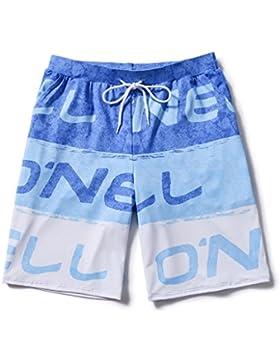 LINGZHIGAN Pantalones de playa para hombres de secado rápido de gran tamaño en la zona costera de Five Points...