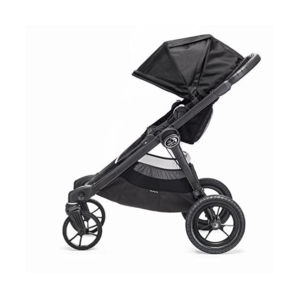 Baby Jogger City Select Single Stroller Black  From 6 months -15 kg Patented Quick-Fold Technology- fold your stroller in one step 16 possible seating combinations (with double conversion kit sold separately) 3
