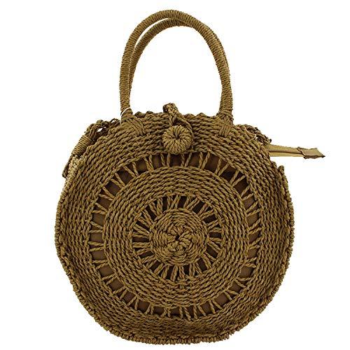 MISEMIYA - Borsa a Mano Donna Pochette e Clutch Borse a mano e a spalla mano borsa - Marrone