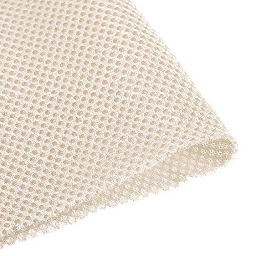 Sourcingmap - Malla para Altavoces (100 x 160 cm), Color Beige y...