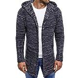 Luckycat Männer Kapuzenjacke Strickjacke Mantel Verdickung Trend Euramerican Tide Sweater Mode 2018