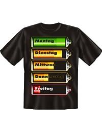 Piles :  jour de la semaine-t-shirt-textiles