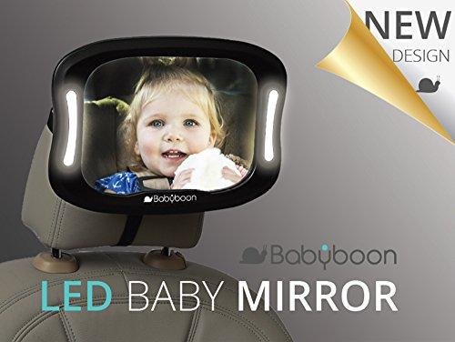Baby Car Mirror LED Light