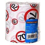 Toilettenpapier 70 Jahre Geschenk für den Geburtstag Länge 25m Klopapier