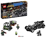 Lego 76045 DC Universe Super Heroes Kryptonit-Mission im Batmobil, Superhelden-Spielzeug