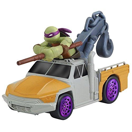 Playmates Ninja Turtles Fahrzeuge T-Maschinen - Donatello in Service-LKW