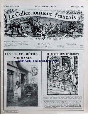 COLLECTIONNEUR FRANCAIS (LE) [No 175] du...