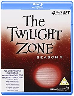 The Twilight Zone - Season Two [Blu-ray] [Region Free] (B004PAID1Y) | Amazon price tracker / tracking, Amazon price history charts, Amazon price watches, Amazon price drop alerts