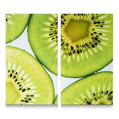 zeller-26302-herdabdeck-de-planches-a-decouper-lot-de-2-kiwi-en-verre-30-x-52-cm-vert-blanc