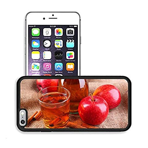 Luxlady Premium Apple iPhone 6 Plus iPhone 6S Plus Aluminum Backplate Bumper Snap Case IMAGE ID: 34148983 Apple cider with cinnamon sticks spices and fresh apples on wooden background