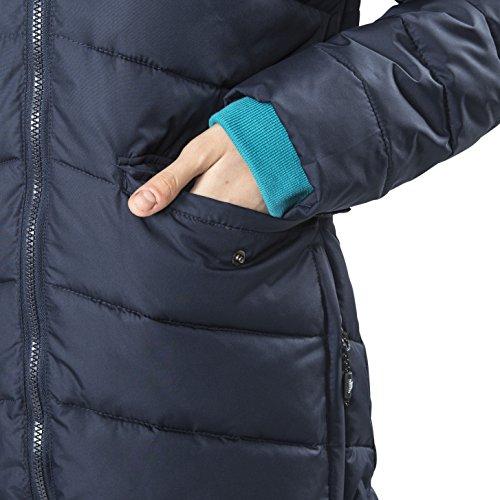 Trespass Homely, Navy, XXS, Wasserdichte Jacke mit abnehmbarer Kapuze für Damen, XX-Small / 2XS / 2X-Small, Blau - 4