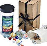 Marble Reward Jar - Whole Jar of Playing Marbles - Great Childs Rewarding System