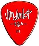 Dunlop 486PHV Heavy Gels Standard Flat Picks - 12 pack rouges