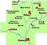 ADFC-Regionalkarte Coburg/Oberes Maintal mit Tagestouren-Vorschlägen, 1:75 - 000, reiß- und wetterfest, GPS-Tracks Download (ADFC-Regionalkarte 1:75000) -