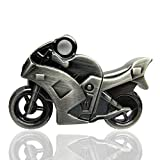 818-shop no20400070032 Hi-Speed 2.0 USB PenDrive 32GB Metalli moto ciclomotore 3D argento