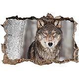Suchergebnis auf f r wolf bilder poster kunstdrucke skulpturen m bel - Poster wanddurchbruch ...