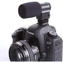 Fotga Pro Stereo Microfono Stereo Shotgun Microfono Direzionale Per CANON NIKON PENTAX OLYMPUS PANASONIC DSLR Camcorder DV Camera Video 5DII 7D D90 D7000 - 4 Condensatore Cardioide