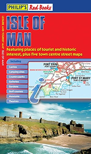 Philip's Isle of Man: Leisure and Tourist Map (Philip's Red Books) por PHILIPS