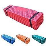 #8: 190x57x2cm Ultralight Camping Mat,Easy Folding Beach Tent Foam Sleeping Pad Waterproof Mattress by Leoie