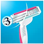 Gillette Simply Venus 3 Plus Womens Disposable Razors Pack Of 4