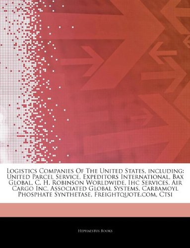 articles-on-logistics-companies-of-the-united-states-including-united-parcel-service-expeditors-inte