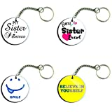 Keyring Gifts for Sister (Set of 4) - Best Reviews Guide