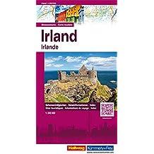 Irland 1:300'000: Strassenkarte (Hallwag Strassenkarten)
