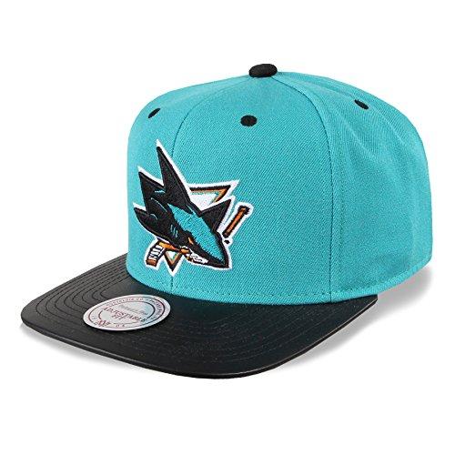 Mitchell & Ness Snapback Cap San Jose Sharks #B20