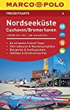 MARCO POLO Freizeitkarte Nordseeküste, Cuxhaven 1:110 000: Toeristische kaart 1:100 000 -