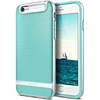 Funda iPhone 6, Caseology [serie Wavelength] delgada doble capa con proteccion de buena calidad y sujecion tactil 3D [Menta Verde - Mint Green] para el Apple iPhone 6 (2014) & iPhone 6S (2015)