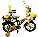 HLX-NMC KIDS BICYCLE 14 BOWTIE YELLOW/BL...