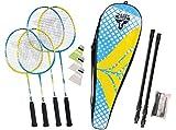 Talbot Torro - Set da Badminton e Piume, Unisex, per Adulti, Colore: Giallo Petrolio, Taglia Unica