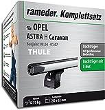 Rameder Komplettsatz, Dachträger SlideBar für OPEL Astra H Caravan (115146-05145-5)